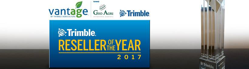 Geo Agri recebe prêmio DISTRIBUIDOR DO ANO - TOP PERFORMER.