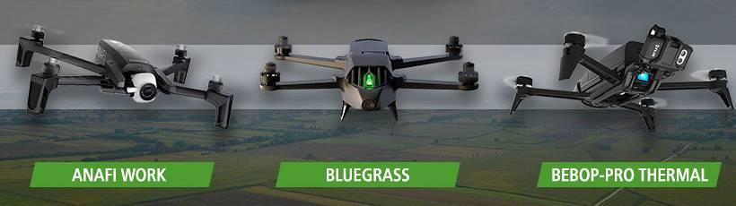 A Geo Agri traz inovação ao mercado com drones multirotores da Parrot