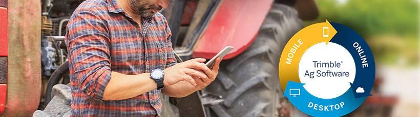Trimble lança o Farmer Core, solução que conecta todas as operações no campo